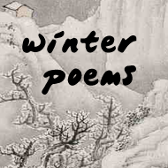 Chinese winter poems